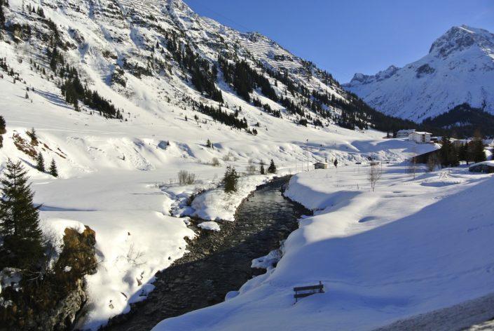 Der Lech Fluss
