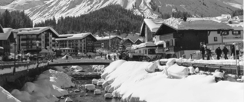 Lech am Arlberg - Village